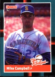 1988 Donruss Rookies Baseball Cards    002      Mike Campbell