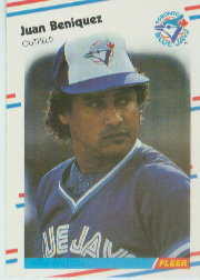 1988 Fleer Baseball Cards      104     Juan Beniquez