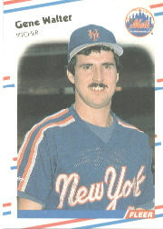1988 Fleer Baseball Cards      153     Gene Walter
