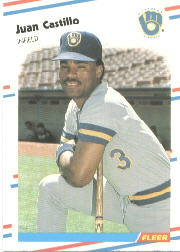 1988 Fleer Baseball Cards      159     Juan Castillo