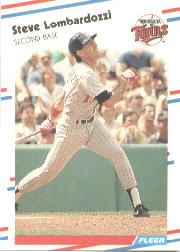 1988 Fleer Baseball Cards      016      Steve Lombardozzi