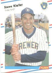 1988 Fleer Baseball Cards      167     Steve Kiefer