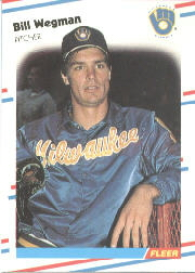 1988 Fleer Baseball Cards      177     Bill Wegman