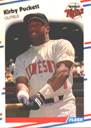 1988 Fleer Baseball Cards      019      Kirby Puckett