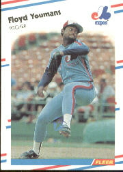 1988 Fleer Baseball Cards      201     Floyd Youmans