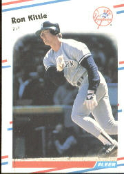 1988 Fleer Baseball Cards      213     Ron Kittle