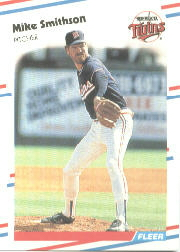 1988 Fleer Baseball Cards      023      Mike Smithson