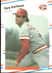 1988 Fleer Baseball Cards      235     Guy Hoffman