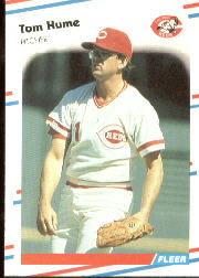 1988 Fleer Baseball Cards      236     Tom Hume