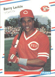 1988 Fleer Baseball Cards      239     Barry Larkin