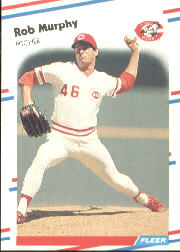 1988 Fleer Baseball Cards      241     Rob Murphy