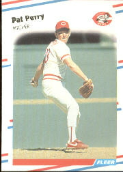 1988 Fleer Baseball Cards      244     Pat Perry