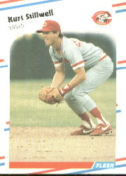 1988 Fleer Baseball Cards      248     Kurt Stillwell