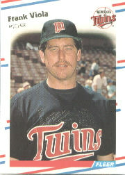 1988 Fleer Baseball Cards      025      Frank Viola