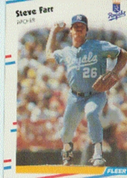 1988 Fleer Baseball Cards      256     Steve Farr