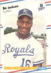 1988 Fleer Baseball Cards      260     Bo Jackson