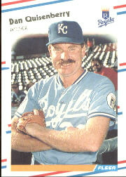 1988 Fleer Baseball Cards      267     Dan Quisenberry