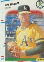 1988 Fleer Baseball Cards      282     Jay Howell