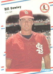 1988 Fleer Baseball Cards      029      Bill Dawley