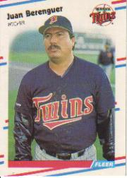 1988 Fleer Baseball Cards      003      Juan Berenguer