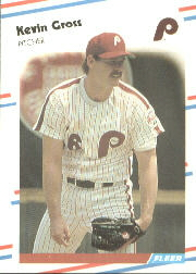 1988 Fleer Baseball Cards      303     Kevin Gross