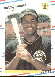 1988 Fleer Baseball Cards      323     Bobby Bonilla