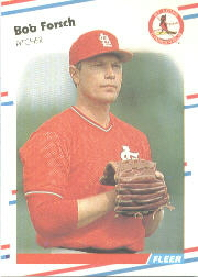 1988 Fleer Baseball Cards      033      Bob Forsch