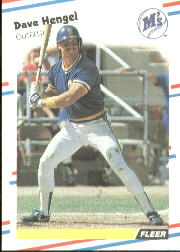 1988 Fleer Baseball Cards      375     Dave Hengel