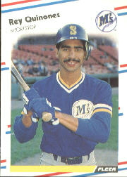 1988 Fleer Baseball Cards      386     Rey Quinones