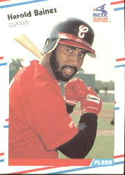 1988 Fleer Baseball Cards      391     Harold Baines
