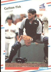 1988 Fleer Baseball Cards      397     Carlton Fisk