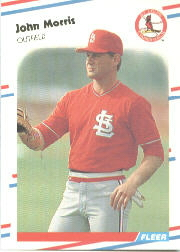 1988 Fleer Baseball Cards      043      John Morris