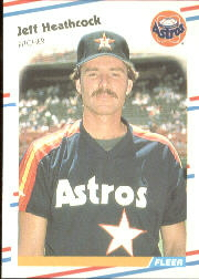 1988 Fleer Baseball Cards      450     Jeff Heathcock
