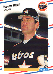 1988 Fleer Baseball Cards      455     Nolan Ryan