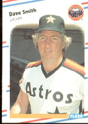 1988 Fleer Baseball Cards      457     Dave Smith