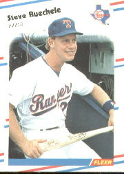 1988 Fleer Baseball Cards      463     Steve Buechele