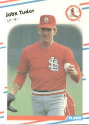 1988 Fleer Baseball Cards      048      John Tudor
