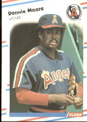 1988 Fleer Baseball Cards      500     Donnie Moore