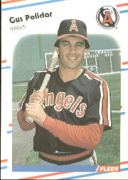 1988 Fleer Baseball Cards      501     Gus Polidor