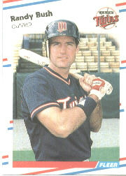 1988 Fleer Baseball Cards      006      Randy Bush