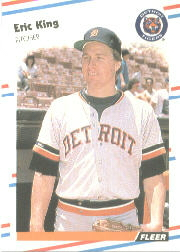1988 Fleer Baseball Cards      060      Eric King