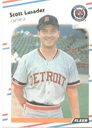 1988 Fleer Baseball Cards      062      Scott Lusader