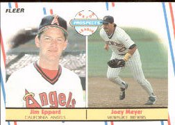 1988 Fleer Baseball Cards       645     Joey Meyer/Jim Eppard RC