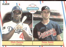 1988 Fleer Baseball Cards       647     Pete Smith/Chris Gwynn RC