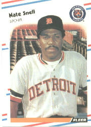 1988 Fleer Baseball Cards      070      Nate Snell