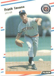 1988 Fleer Baseball Cards      071      Frank Tanana