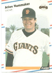 1988 Fleer Baseball Cards      083      Atlee Hammaker