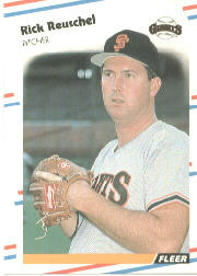1988 Fleer Baseball Cards      094      Rick Reuschel