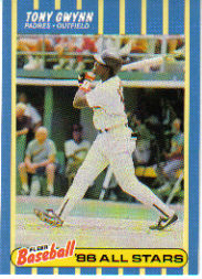 1988 Fleer Baseball All-Stars Baseball Cards   013      Tony Gwynn