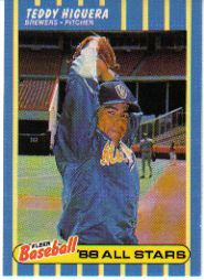 1988 Fleer Baseball All-Stars Baseball Cards   015      Teddy Higuera